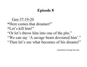 08 Gen 37;19-20